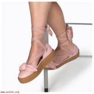 Puma Shoes - Puma by Rihanna Bow Creeper Sandal 36579401 4b80d2ce7